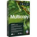 Papper MultiCopy A3 80g Ohålat 500st/paket (Miljö)