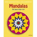 Målarbok Mandala från 4år