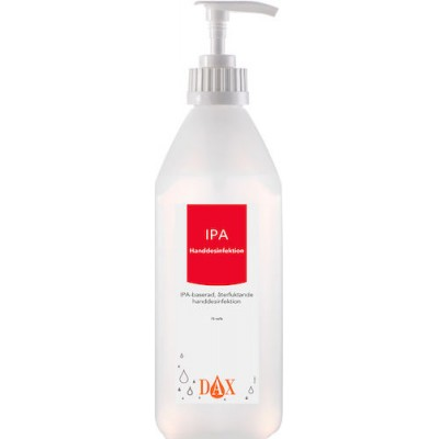 Handdesinfektion Dax IPA med Pump 75% 600ml 15st/fpk