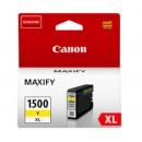 Bläckpatron Canon 1500XL Gul