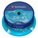 CD-R Verbatim Cakebox 25st/fpk