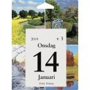 Väggkalender med Dagblock Årstider (Miljö)